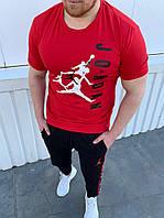Чоловічий костюм JORDAN:футболка,штани духнитка (З-ХХЛ)