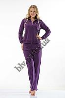 Женские трикотажные спортивные костюмы пр-во Турция   FM14657 Purple