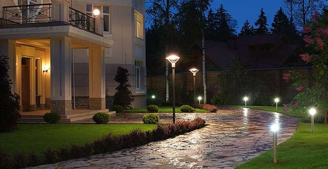 Парковые светильники столбики