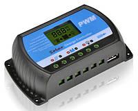 Контроллер заряда для солнечных батарей Y-SOLAR RTD-30A (12-24V 30А) +USB 5V