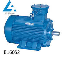 Взрывозащищенный электродвигатель В160S2 15кВт 3000об/мин