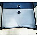 Душовий бокс з гідромасажем 120х85 см Veronis BN-6-29, правосторонній, профіль чорний, фото 7