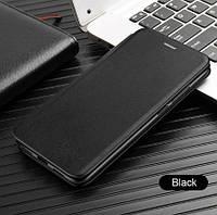 Чехол книжка Level для Samsung Galaxy A30 A305F Black Самсунг А30 черная