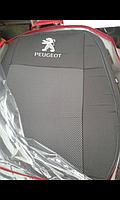 """Чехлы """"Favorite"""" польские на PEUGEOT 508 2010г. (седан) (airbag, Recaro, 5 подгол.)"""