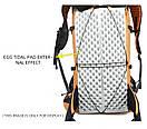 Рюкзак туристический 3F UL GEAR 40 + 16 Литра. Ультралегкий для трекинга серый., фото 3