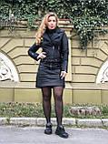 Черная брендовая куртка Philipp Plein из кожи, фото 7