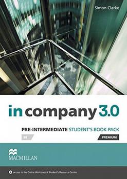 In Company 3.0 Pre-Intermediate B1 Student's Book Pack