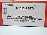 Вкладыши коленчатого вала (STD) на Renault Trafic / Opel Vivaro 2.5dCi (2003-2014) Glyco (Германия) H1013/5STD, фото 4