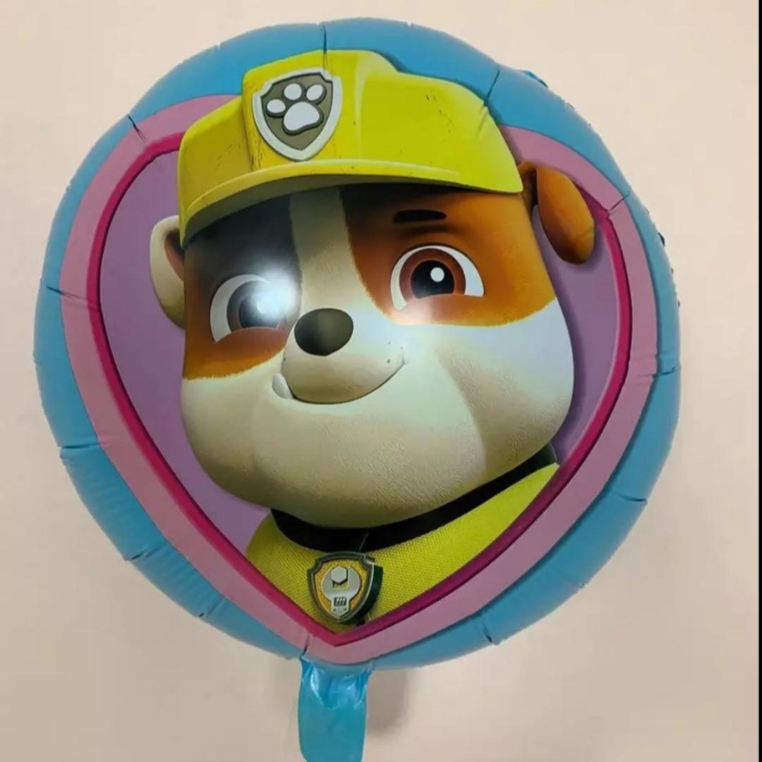 Фольгированный воздушный шарик щенячий патруль крепыш 45 см