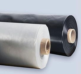 Пленка полиэтиленовая 80 мкр. 3м*100м.п. черная