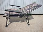 Кресло карповое M-Elektrostatyk F5R Camou с широкими подлокотниками, фото 2