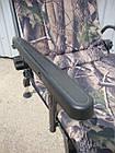 Кресло карповое M-Elektrostatyk F5R Camou с широкими подлокотниками, фото 5