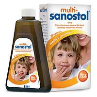Multi-Sanostol жидкие вкусные витамины для детей от 1 года  600 гр