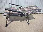 Кресло карповое M-Elektrostatyk F5R Camou с широкими подлокотниками, фото 9