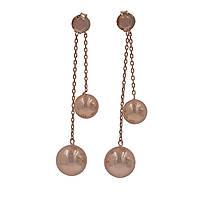 """Серебряные серьги с позолотой """"1163"""""""