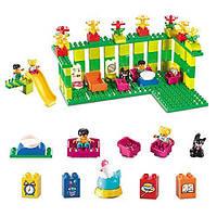 Детский конструктор Smoneo 55008 Детская площадка 175 деталей