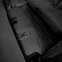 Коврики салона в салон на Mercedes W167 GLE-Class 2019- черные третього ряда Мерседес В167