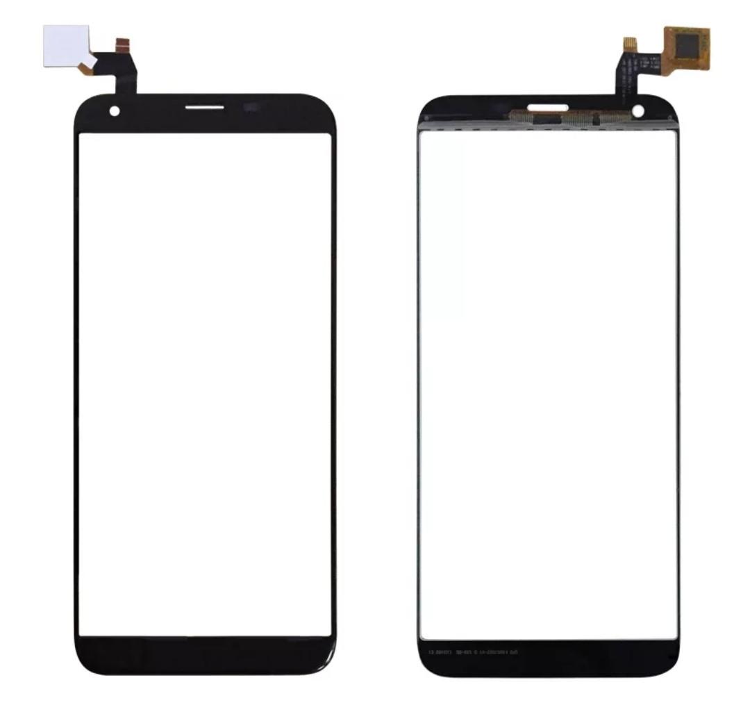 Touchscreen (сенсор) для Oukitel K5 Чорний