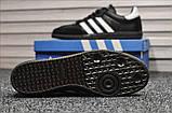 Кросівки Adidas Samba Black White / Адідас Самба, фото 3