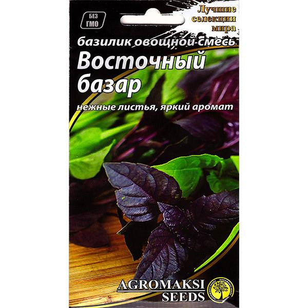 """Семена базилика раннего """"Восточный базар"""" (2 г) от Agromaksi seeds"""