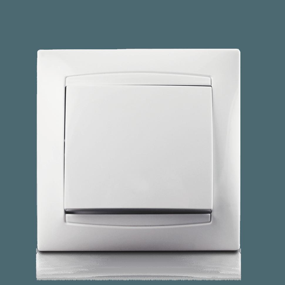 Кнопка дзвінка в зборі Erste electric Prestige біла (9206-00W)