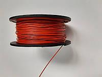 Трос пломбировочный  в полимере (красный)50м