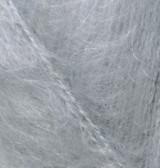 Пряжа для вязания Мохер классик ALIZE серый 21