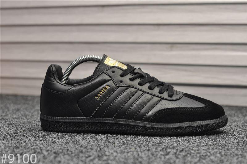 Кроссовки Adidas Samba Black / Адидас Самба