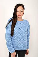 Свитер женский 103R052-18 цвет Голубой