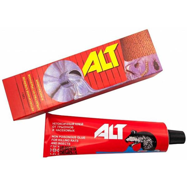 Клей ALT (135 г) для ловли мышей и крыс от Valbrenta Chemicals, Беларусь (оригинал)