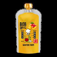 ПЮРЕ фруктове МАНГО, 400г Bob snail