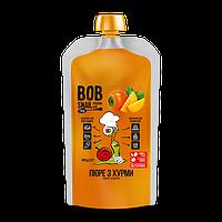 ПЮРЕ фруктове ХУРМА, 400г snail Bob