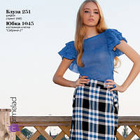 Блуза в мелкий горох, фото 1