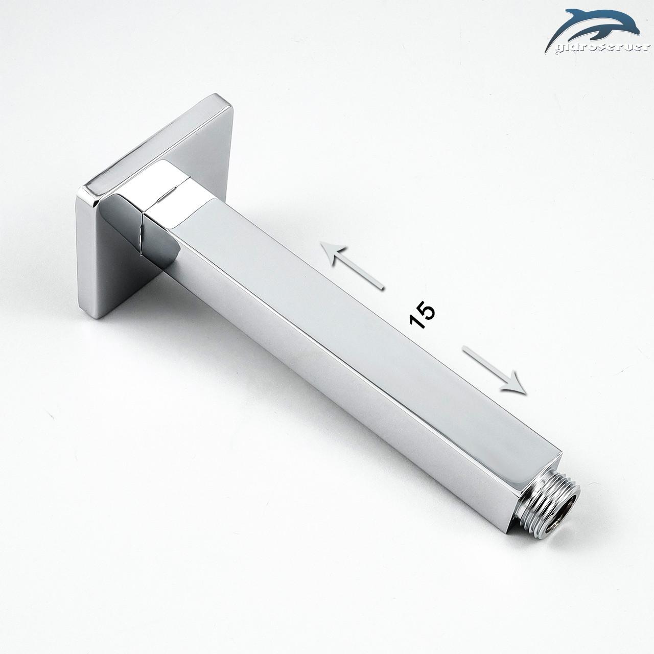 Держатель для лейки верхнего душа DL-03.15 латунный.