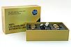 Автолампы в машину Turbo Led C6 H7 золотая коробка, фото 4