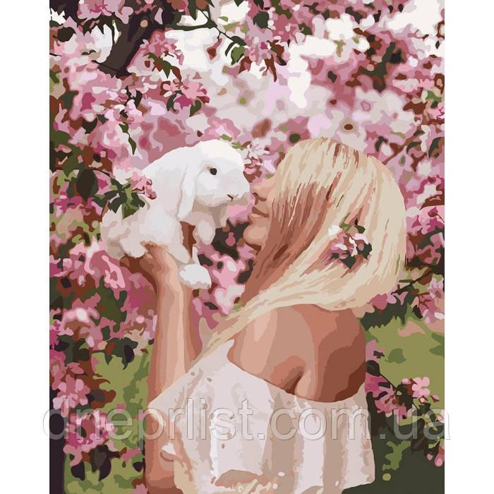 "Картина по номерам ""Весенняя нежность"", 40х50 см, 3*"