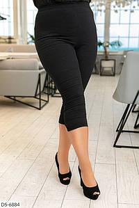 Женские стильные капри на резинке, хорошо тянуться. Ткань:стрейч джинс Турция. Цвет: чёрный и т.синий.