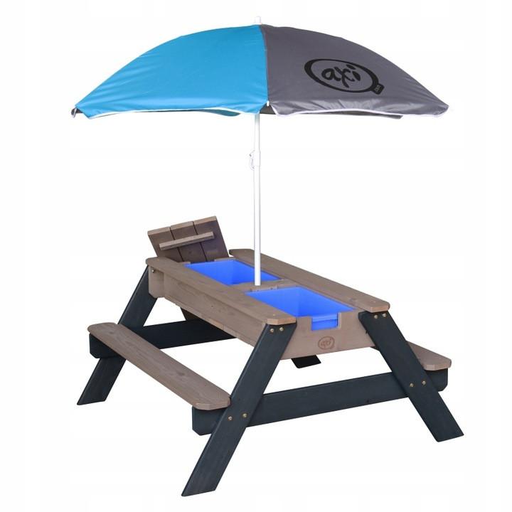Столик для пикника с зонтом AXI (песочница, водный стол)