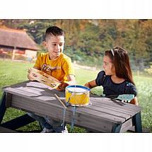 Столик для пикника с зонтом AXI (песочница, водный стол), фото 3