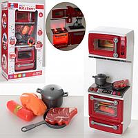 МЕБЕЛЬ 66081 кухня 29-11-7 см, плита, продукты, звук, свет, на батарейке, в коробке.