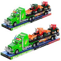 Трейлер 9008  2 тракторам  42-6см