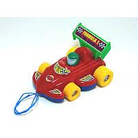 Каталка Спортивная Машина с веревочкой № 06-604