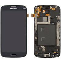 Дисплей + touchscreen (сенсор) для Samsung Galaxy Mega 5.8 i9152, c передней панелью, синий, оригинал
