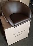 Кресло парикмахерское Мурат Нью  коричневое экокожа СДМ группа, фото 2