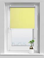 Рулонные шторы блэкаут Термо Сильвер 057 ванильный цвет