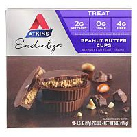 Atkins, Endulge, чашечки з арахісовим маслом, 5 упаковок, 34 г кожна