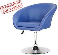 Кресло парикмахерское Мурат Нью синее экокожа СДМ группа