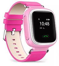 Дитячий GPS годинник-телефон GOGPS ME K10 Рожевий