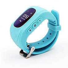 Дитячий GPS годинник-телефон GOGPS ME K50 Бірюзовий