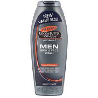 Palmer's, Формула с какао-маслом, мужское средство для мытья тела и лица, свежий аромат, 17 жидких унций (500 мл)